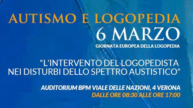 AUTISMO E LOGOPEDIA GE2019 VERONA
