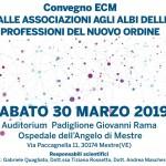 Convegno ECM Ordini 30 marzo 2019